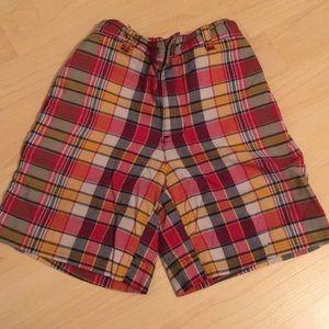 Polo - Plaid Shorts